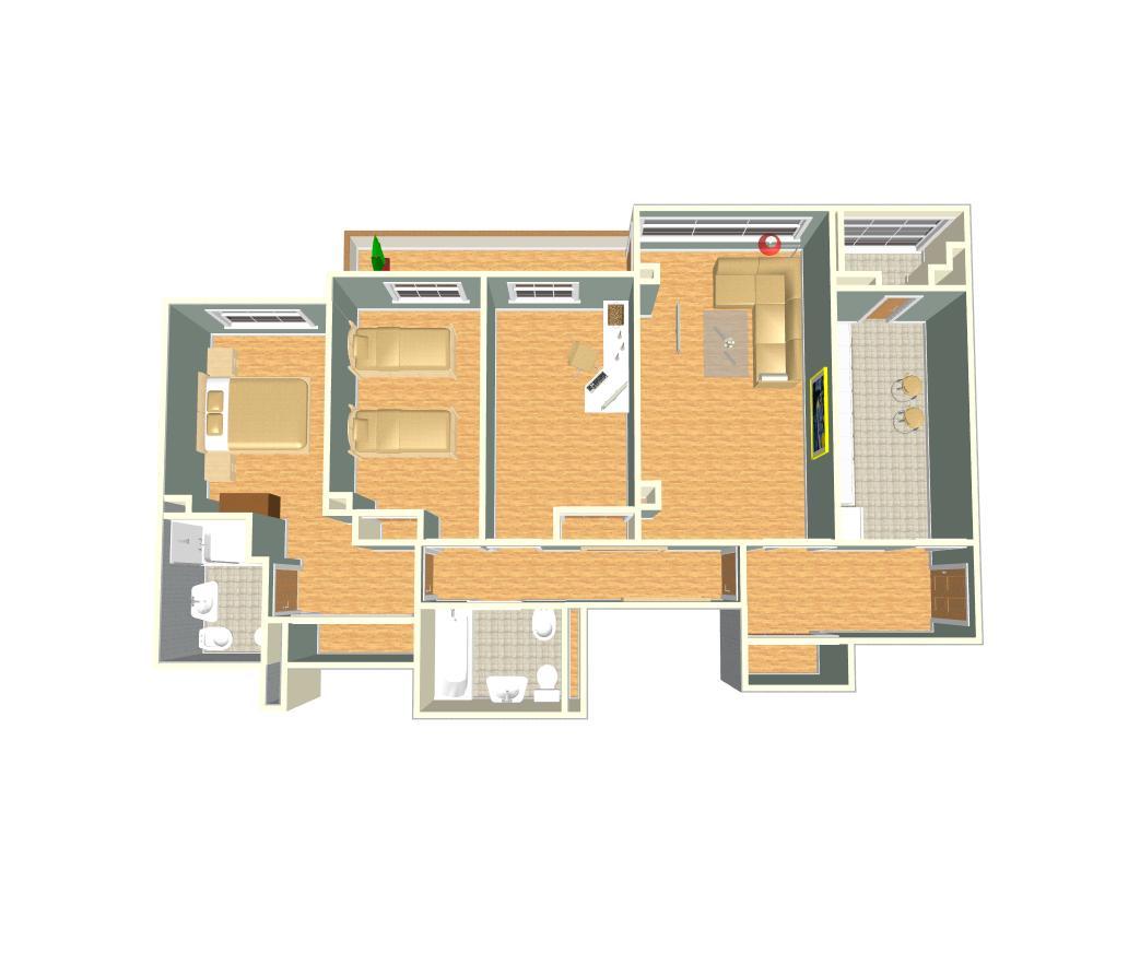 Ciudad del duque ii documento plano 3d tipo b for Planos 3d online