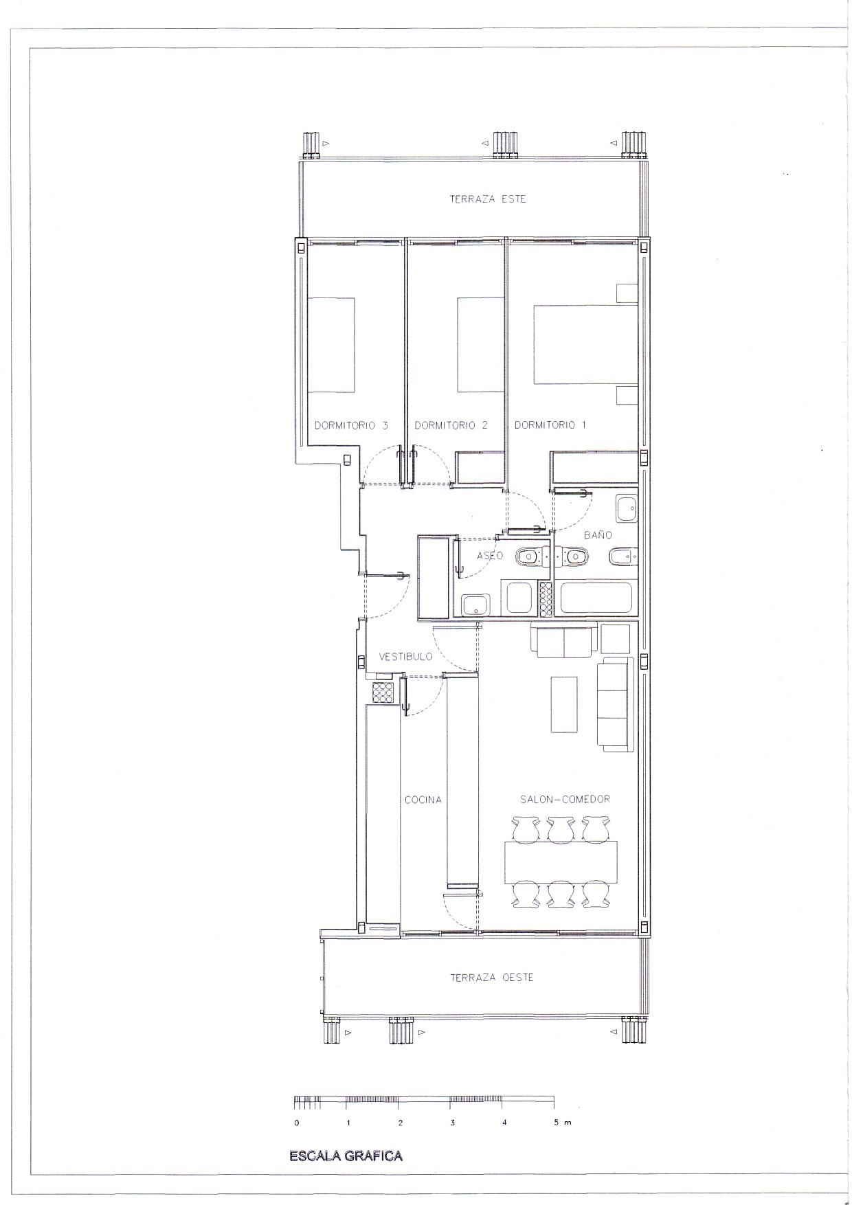 Emv 14a Pau Carabanchel 16 Documento Plano Piso 3 Dormitorios - Planos-de-pisos-de-3-dormitorios