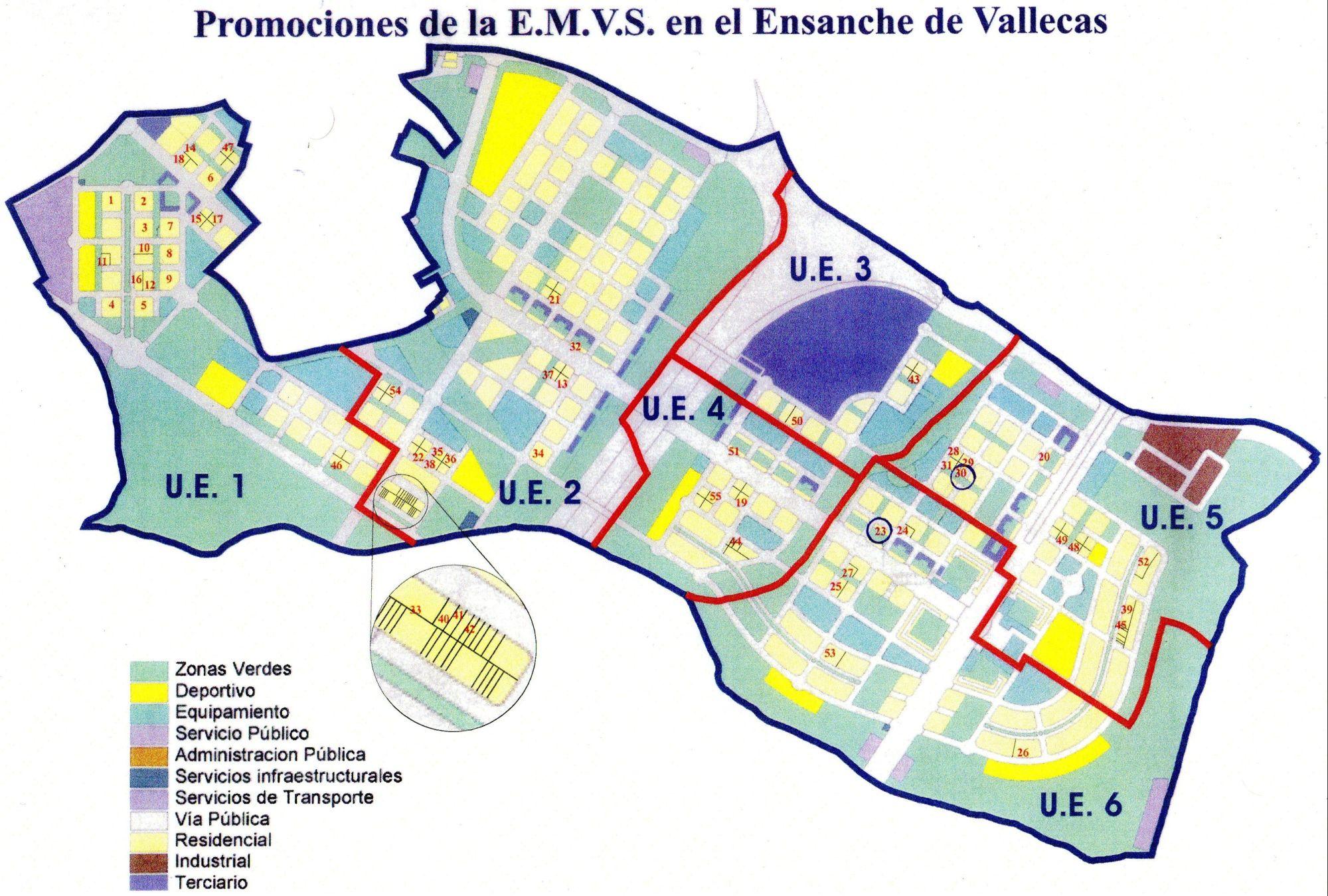 Emv 17 pau vallecas 23 documento promociones emvs - Ensanche de vallecas ...