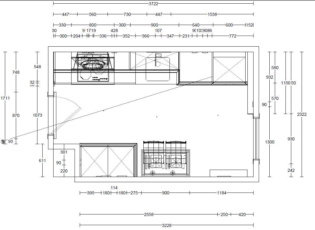 Medidas de muebles de cocina estandar ideas for Medidas de cocina industrial