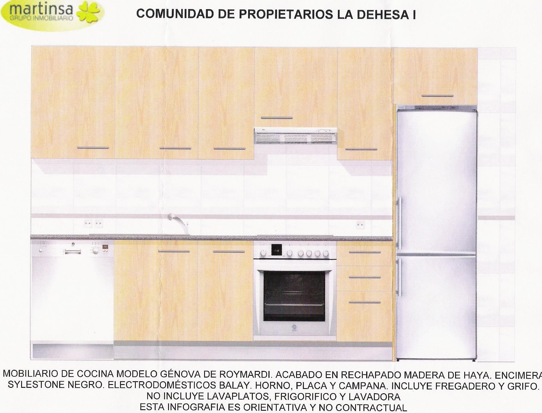 C p la dehesa i documento mobiliario cocina roymardi for Mobiliario cocina barato