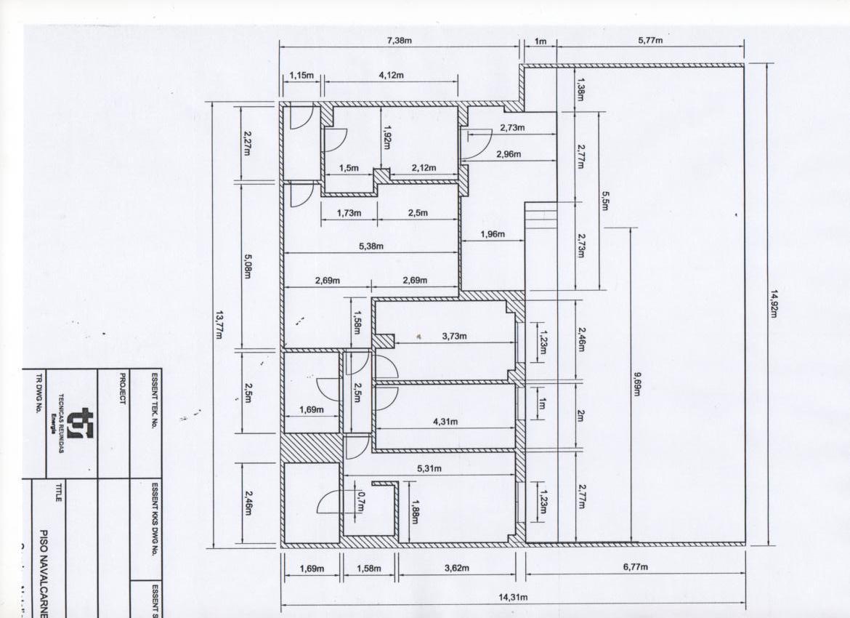 Las terrazas documento plano piso medidas for Planos de casas de dos pisos con medidas y fachadas