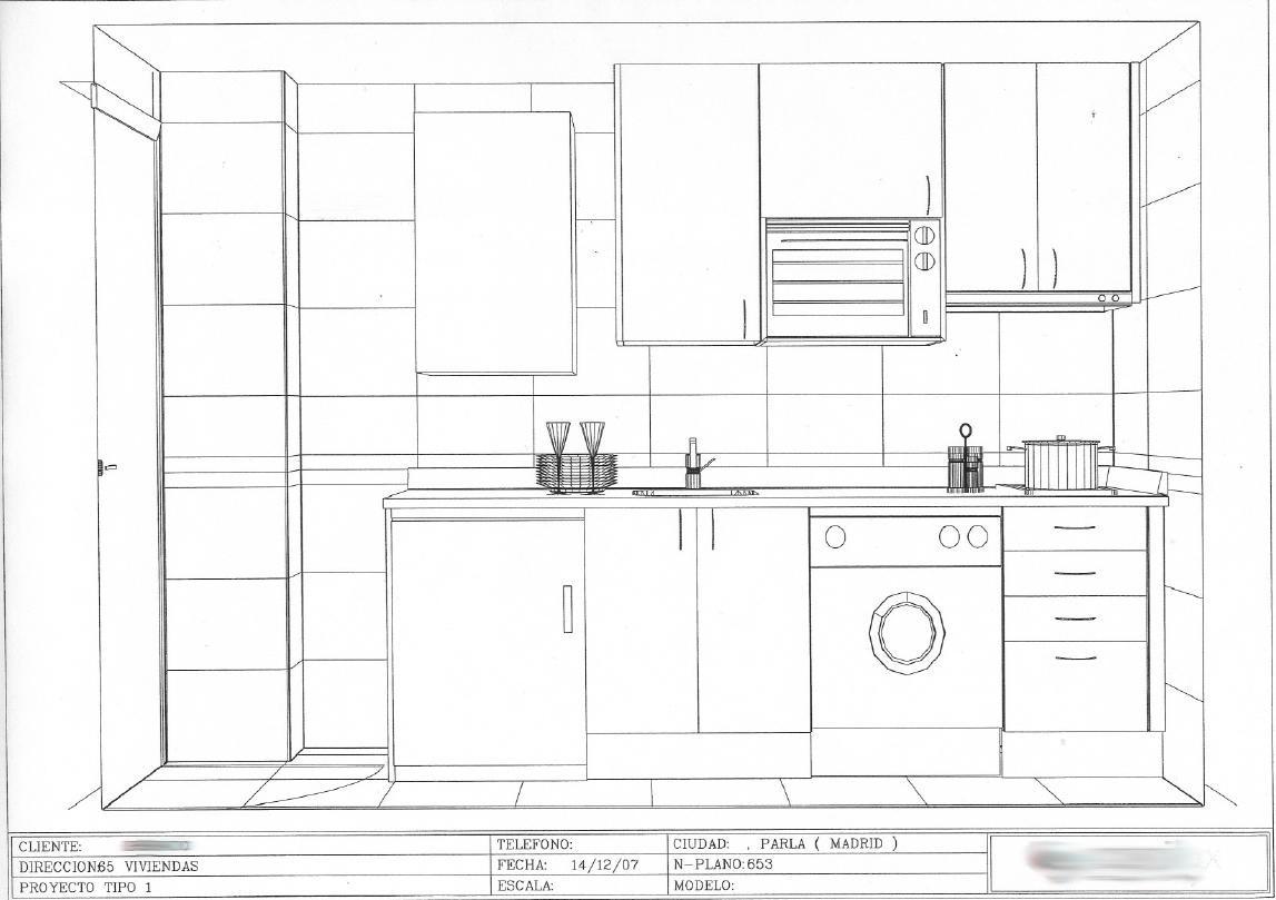 Valdefuentes documento cocina distribucion - Cocina cuadrada distribucion ...