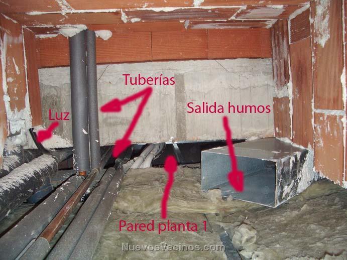 Miramadrid aviso chimeneas chalets dobleal - Como instalar una chimenea de lena ...