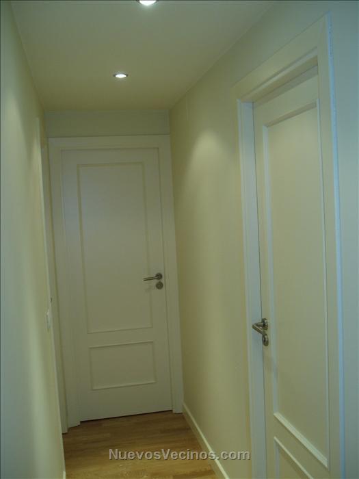 Miramadrid fotos pasillo puertas y rodapi s - Precio lacar puertas en blanco ...