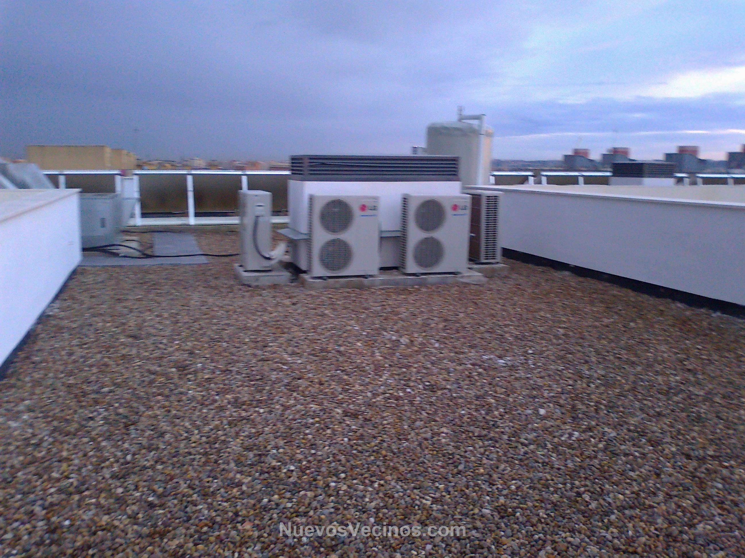 Residencial entrestrellas fotos m quinas aire for Maquinas de aire acondicionado baratas