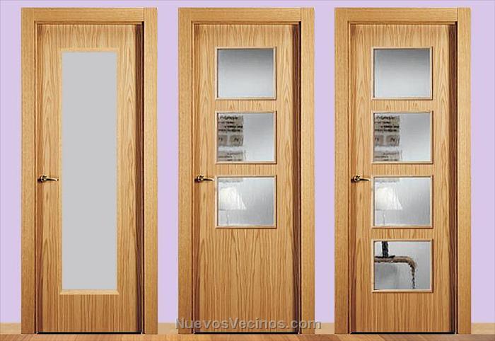 Habitat castilla la mancha fotos puertas de paso - Cristales decorativos para puertas de interior ...