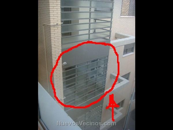 Plomo 10 fotos cerrramiento de lavadero en portal 4b for Lavadero exterior