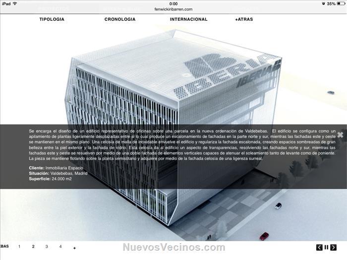 Parque valdebebas proyecto edificio oficinas iberia for Oficinas de iberia